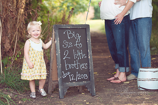 Shannon Lankford Photography – Big Sister Birth Announcement